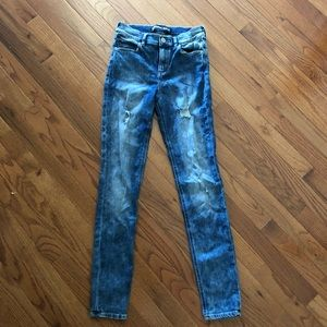Express semi acid washed jeans